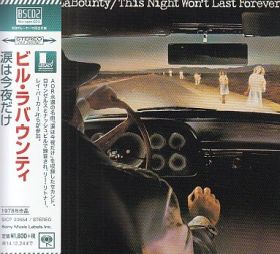 BILL LaBOUNTY / THIS NIGHT WON'T LAST FOREVER の商品詳細へ