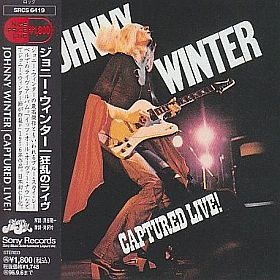 JOHNNY WINTER / CAPTURED LIVE の商品詳細へ