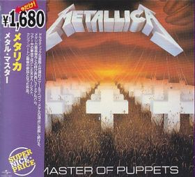 METALLICA / MASTER OF PUPPETS の商品詳細へ