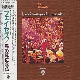 FACES / A NOD IS AS GOOD AS WINK...TO A BLIND HOESE の商品詳細へ