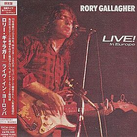 RORY GALLAGHER / LIVE ! IN EUROPE の商品詳細へ