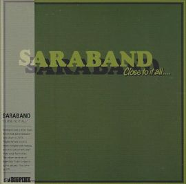 SARABAND / CLOSE TO IT ALL の商品詳細へ