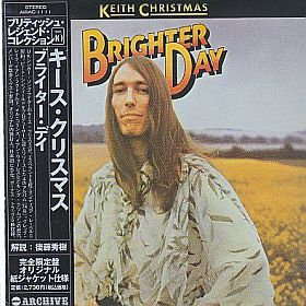 KEITH CHRISTMAS / BRIGHTER DAY の商品詳細へ
