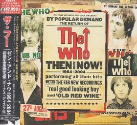 THE WHO / THEN AND NOW の商品詳細へ