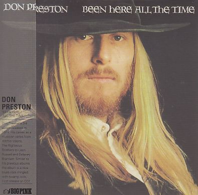 DON PRESTON / BEEN HERE ALL THE TIME の商品詳細へ