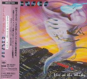 KANSAS / LIVE AT THE WHISKY の商品詳細へ