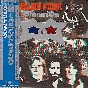 GRAND FUNK RAILROAD (GRAND FUNK) / SHININ' ON の商品詳細へ