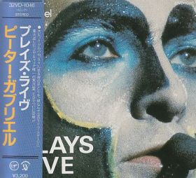 PETER GABRIEL / PLAYS LIVE の商品詳細へ
