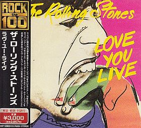 ROLLING STONES / LOVE YOU LIVE の商品詳細へ