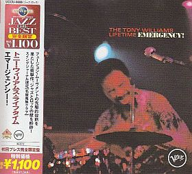 TONY WILLIAMS LIFETIME / EMERGENCY ! の商品詳細へ