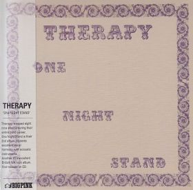 THERAPY / ONE NIGHT STAND の商品詳細へ