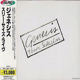 GENESIS / THREE SIDES LIVE(CD) の商品詳細へ