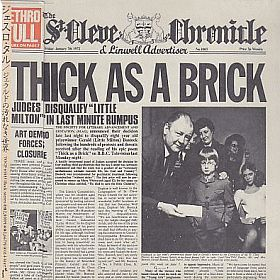 JETHRO TULL / THICK AS A BRICK の商品詳細へ