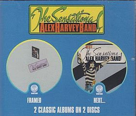 SENSATIONAL ALEX HARVEY BAND / FRAMED and NEXT の商品詳細へ
