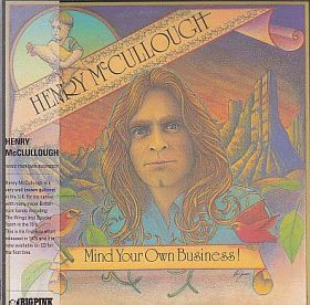 HENRY McCULLOUGH / MIND YOUR OWN BUSINESS の商品詳細へ