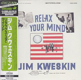 JIM KWESKIN / RELAX YOUR MIND の商品詳細へ