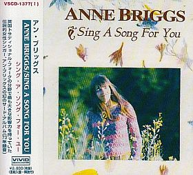 ANNE BRIGGS / SING A SONG FOR YOU の商品詳細へ