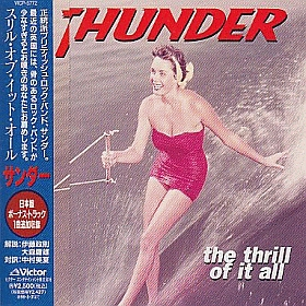 THUNDER / THRILL OF IT ALL の商品詳細へ