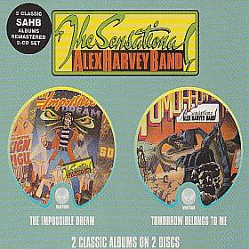 SENSATIONAL ALEX HARVEY BAND / IMPOSSIBLE DREAM and TOMORROW BELONGS TO ME の商品詳細へ