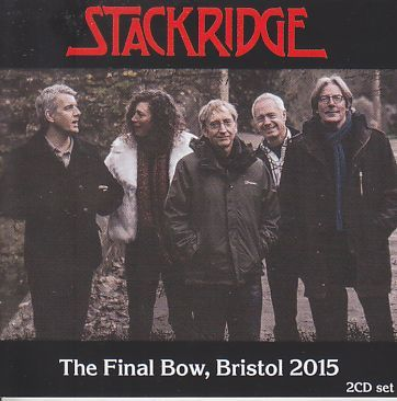 STACKRIDGE / FINAL BOW - BRISTOL 2015 の商品詳細へ