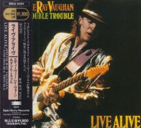 STEVIE RAY VAUGHAN & DOUBLE TROUBLE / LIVE ALIVE の商品詳細へ