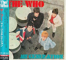THE WHO / MY GENERATION の商品詳細へ
