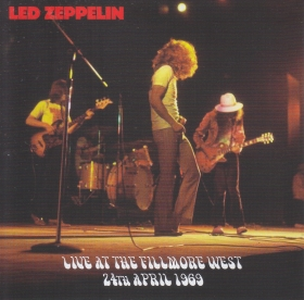 LED ZEPPELIN / LIVE AT THE FILLMORE WEST 24TH APRIL 1969 の商品詳細へ