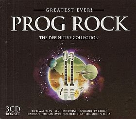 V.A. / GREATEST EVER ! PROG ROCK DEFINITIVE COLLECTION の商品詳細へ
