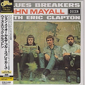 JOHN MAYALL & THE BLUESBREAKERS / BLUESBREAKERS WITH ERIC CLAPTON の商品詳細へ