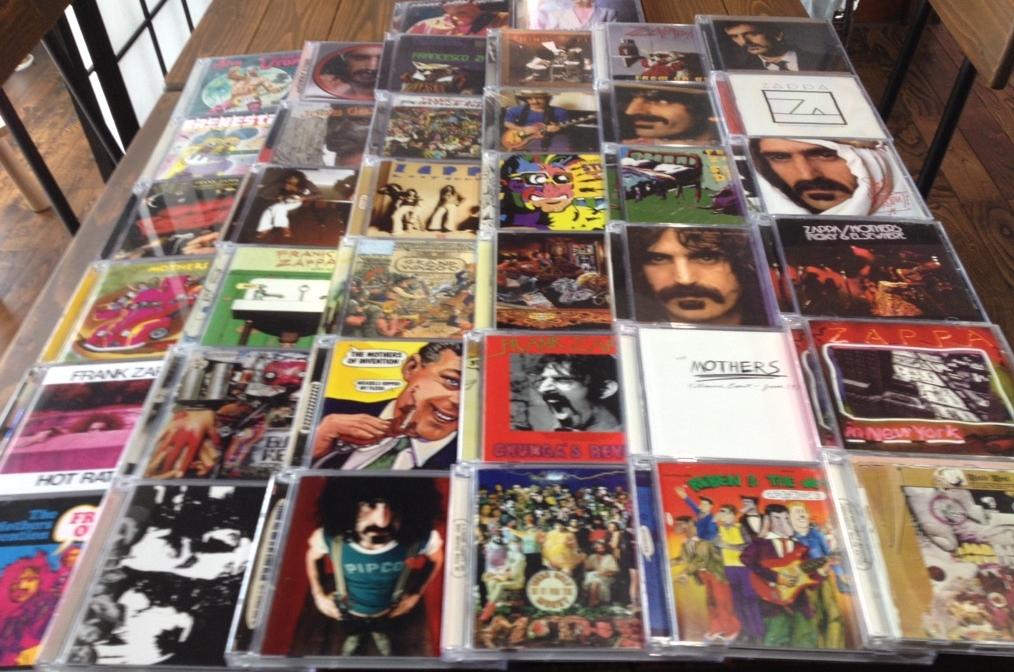 9月1日、197枚の中古CDが入荷いたしました!大量入荷のザッパ作品より『SHIEK YERBOUTI』をピックアップ☆
