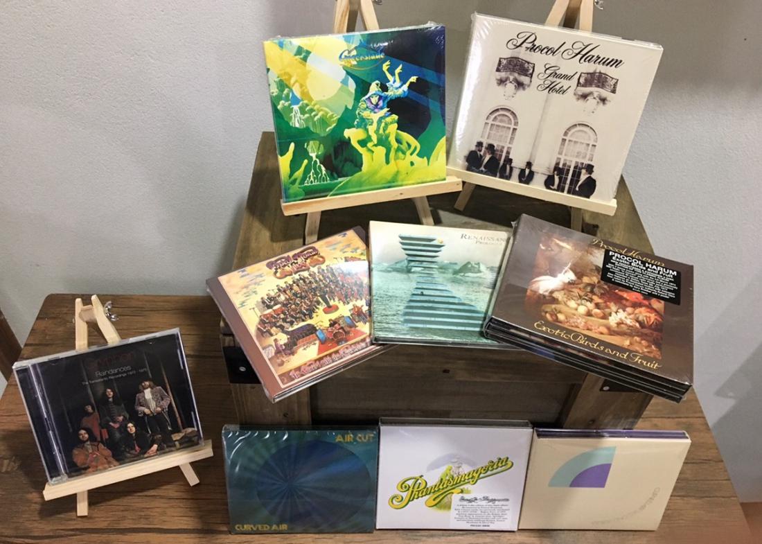 GREENSLADE、PROCOL HARUMなど英国ロック&プログレの18年リイシュー盤+αをご紹介!