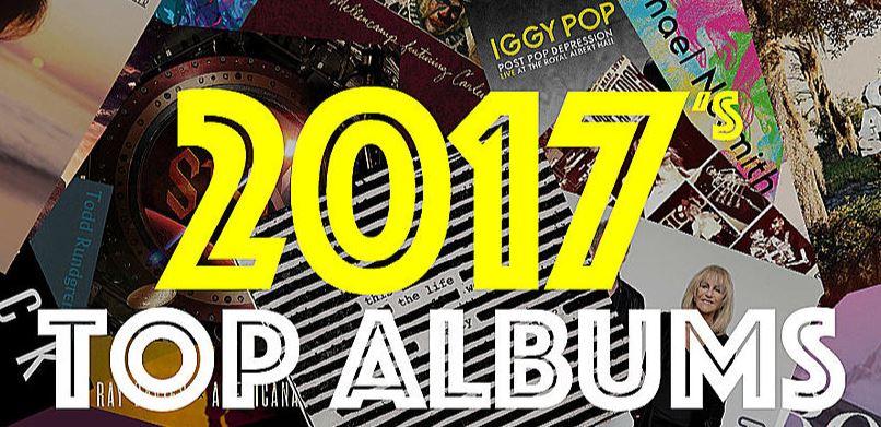 2017年ベストアルバムTOP25-米音楽サイトULTIMATE CLASSIC ROCK発表