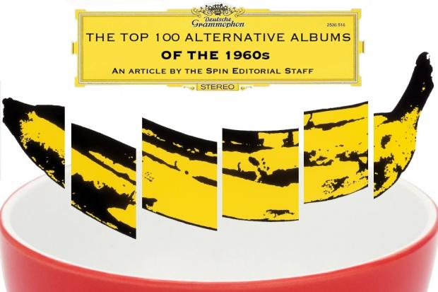 SPIN誌が選ぶ「60年代のオルタナティヴな名盤TOP100」