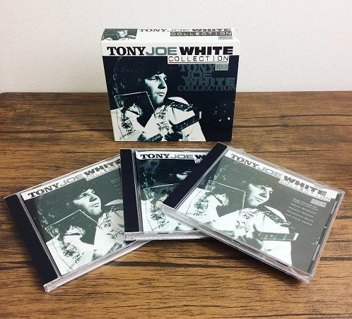 本日お誕生日♪トニー・ジョー・ホワイト初期3部作ボックスのご紹介。