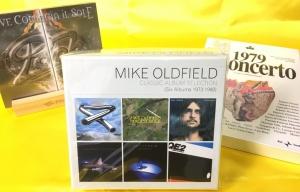 7月13日、56枚の中古CDが入荷いたしました!マイク・オールドフィールドの初期6タイトル収録BOXをピックアップ☆