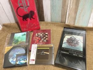 8月20日、206枚の中古CDが入荷いたしました!プログレのBOXものや高音質盤に注目☆