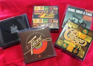 1月18日、273枚の中古CDが入荷いたしました!CHICAGO、FACESなどのオリジナル・アルバムBOXをピックアップ☆