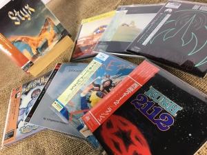 2月20日、268枚の中古CDが入荷いたしました!『ラッシュ/西暦2112』など各国プログレ紙ジャケに注目!