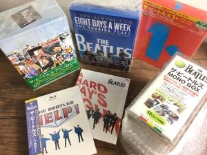 9月13日、101枚の中古CDが入荷しました!ビートルズのボックスや映像作品が多数入荷♪