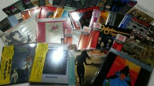 今日の入荷は紙ジャケ三昧!!10月19日、なんと483枚の中古CDが入荷いたしました。