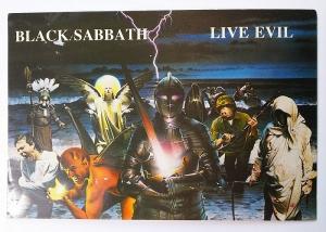 思い出の品オークション!「BLACK SABBATHメンバー直筆サイン入りポストカード」