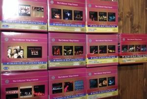 10月12日、104枚の中古CDが入荷いたしました!キング・クリムゾンの限定ライヴBOXをピックアップ☆