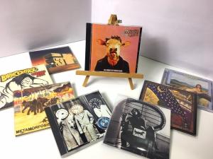1月17日、300枚の中古CDが入荷いたしました!ジャケがシュールな仏ジャズ・ロックMOVING GELATINE PLATESをピックアップ☆