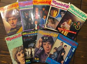 カケレコのお客様より、なんと1968~69年の『MUSIC LIFE』誌を寄贈していただきました!