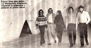 当時アルバム未発表に終わったアルゼンチン産プログレ・バンドALTABLANCAの81年発掘ライヴ作『EN VIVO MENDOZA 81』