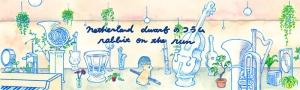 netherland dwarf のコラム『rabbit on the run』 第1回 netherland dwarf / tortoise walks forever (Japan / 2014)